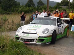 Rallye de Ferrol: Vallejo contra pronóstico