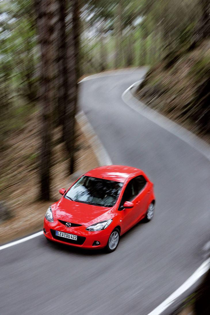 Mazda2 comercialización