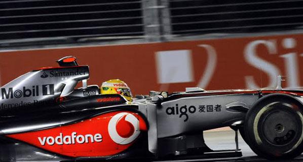 F1: Calificación del GP de Singapur