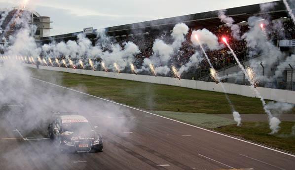 Audi y Scheider vencen a Mercedes en el DTM