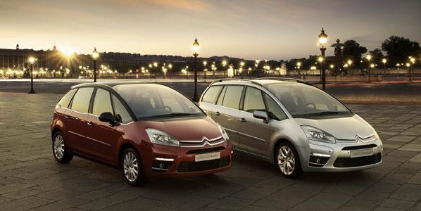 Novedades en el Citroën C4 Picasso y Grand C4 Picasso