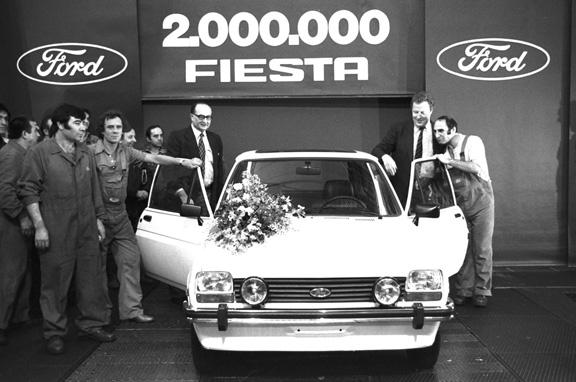 Ford Fiesta, la historia