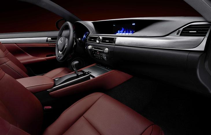 Lexus GS350 F-Sport.