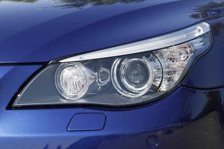 BMW M5 Touring: detalles exteriores