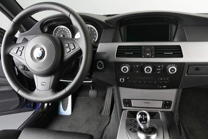 BMW M5 Touring: detalles interiores