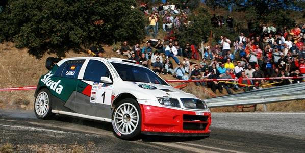 Rallye Shalymar: Sainz y el público