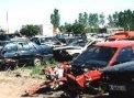 Los coches abandonados, vertidos peligrosos