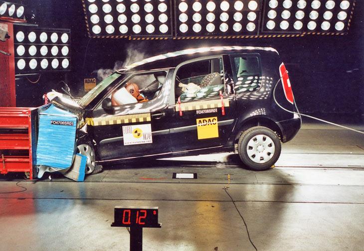 Euro NCAP diciembre 2006