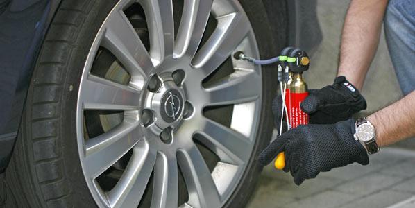 Neumáticos: el 60 por ciento, con baja presión