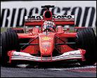 Schumacher registra mejores tiempos con el monoplaza antiguo