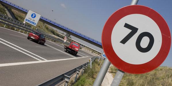 La DGT vigilará la velocidad en las vías secundarias