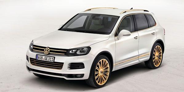 VW Touareg Gold Edition y Race Touareg 3 Qatar