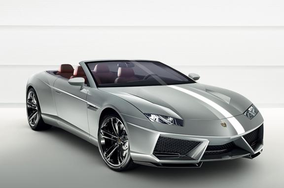 Los coches de lujo que vienen: Lamborghini Estoque Cabrio.