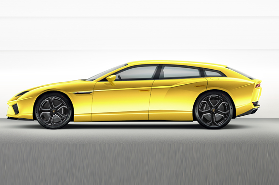 Los coches de lujo que vienen: Lamborghini Estoque Shooting Break.
