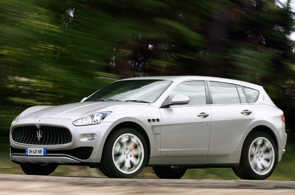 Los coches de lujo que vienen: Maserati SUV.