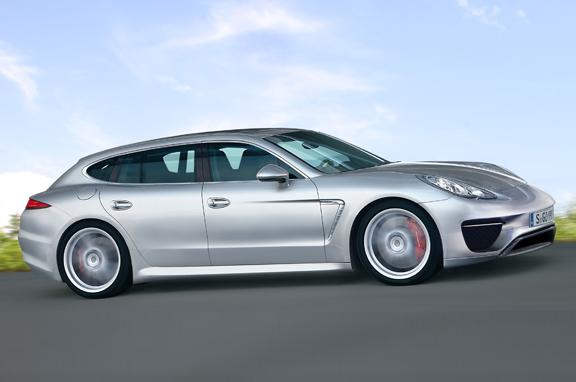 Los coches de lujo que vienen: Porsche Panamera Station Wagon.