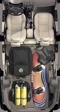 Volvo V50 maletero