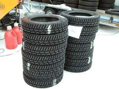 Neumáticos y suspensiones, a examen
