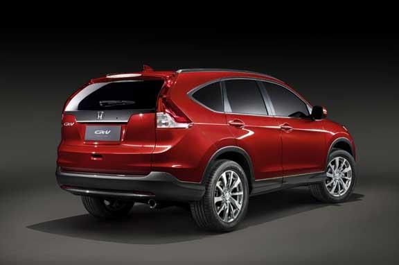 Nuevo Honda CR-V 2012