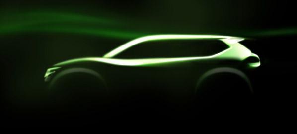 Nissan Hi-Cross Concept, super Qashqai