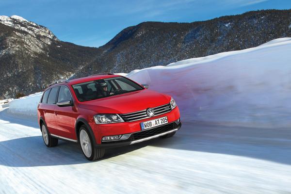 Volkswagen Passat Alltrack el contacto