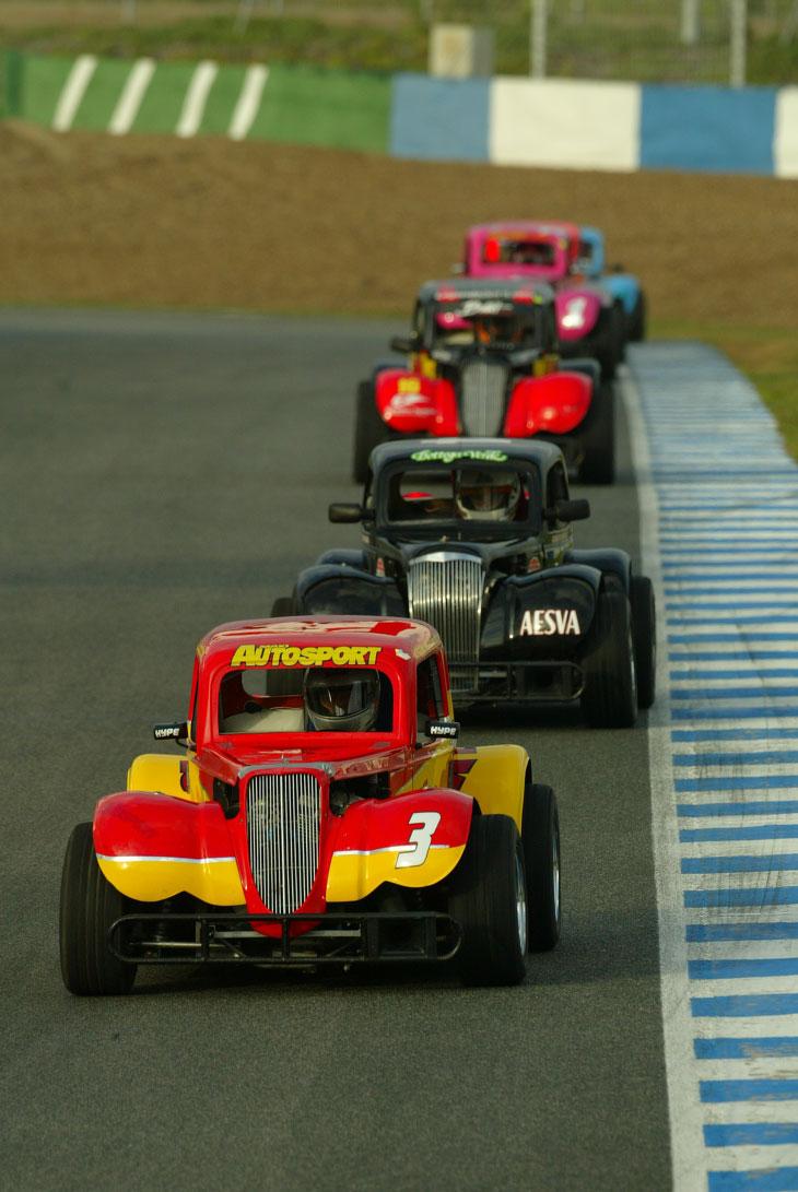 Concurso Legend Cars