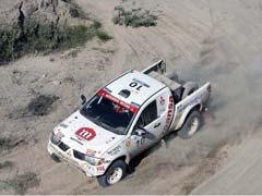 Los Mitsubishi dominaron la Baja Almanzora
