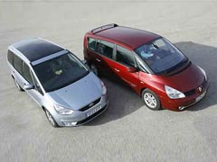 Renault Grand Espace versus Ford Galaxy