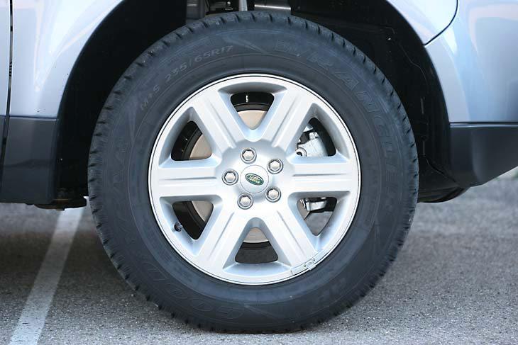 Land Rover Freelander2 frente a Volkswagen Tiguan: detalles exteriores