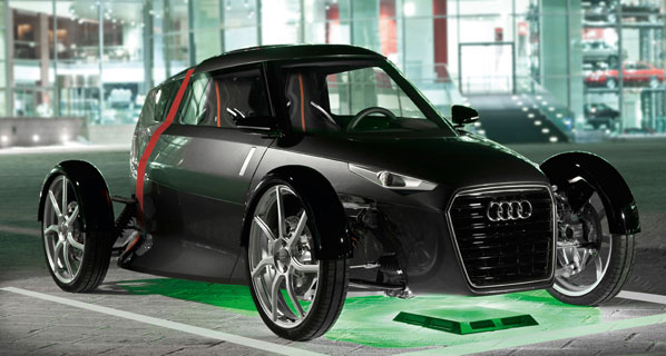 Recarga inalámbrica para vehículos eléctricos e-tron de Audi