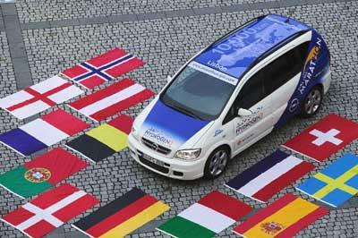 Comienza el Opel Fuel Cell Marathon
