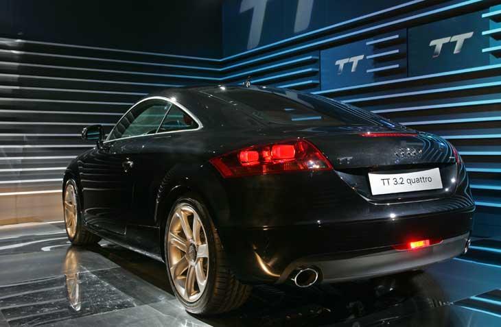 Audi TT diseño