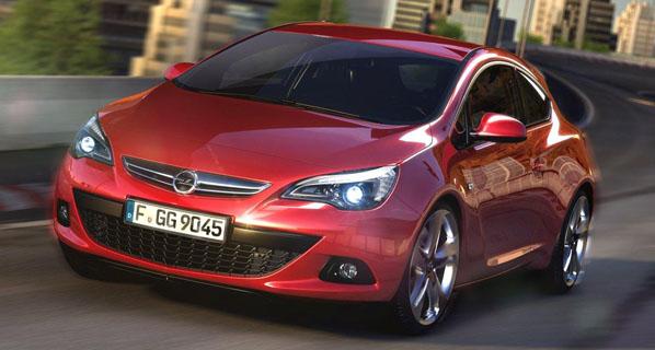 Primeras imágenes del Opel Astra GTC
