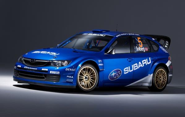WRC: El Subaru WRC 2008 en Grecia