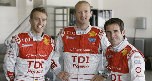 Audi desvela sus pilotos para las 24 horas de Le Mans