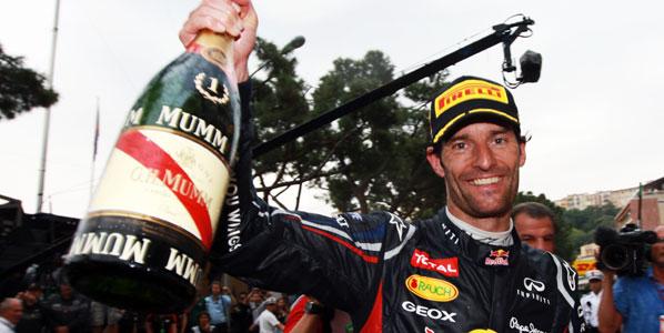 Webber, príncipe de Mónaco… y Alonso, del Mundial