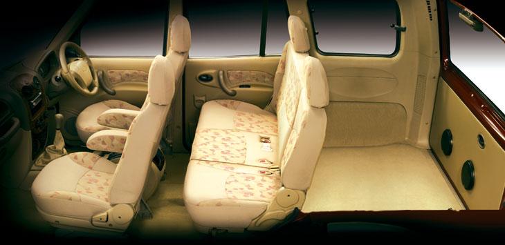 El volumen de maletero es suficente para un vehículo de estas características.