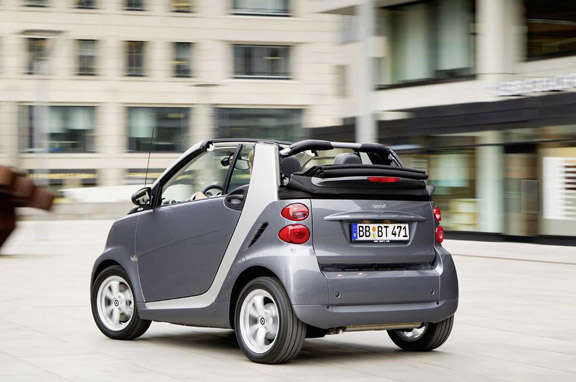 Smart ForTwo Pearlgray Limited Edition