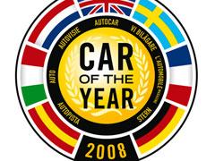 Finalistas a Coche del Año 2008