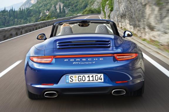 Nuevo Porsche 911 Carrera 4 y Carrera 4 S.