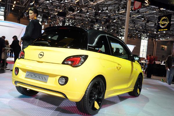 Opel Adam en Paris