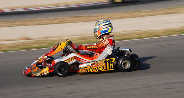 Gerard Barrabeig, campeón de España de Karting