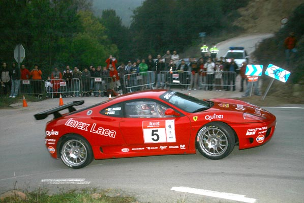 Piedrafita alineará tres Ferrari en 2008