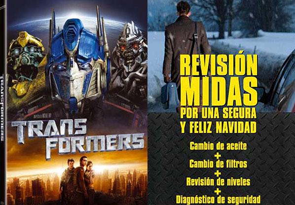 Sorteo navideño: Transformers y Midas están contigo