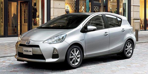 Toyota presenta el Aqua