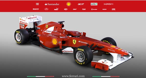 Presentado el Ferrari F150 de Alonso