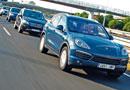 BMW X5 vs Mercedes ML, Porsche Cayenne y VW Touareg