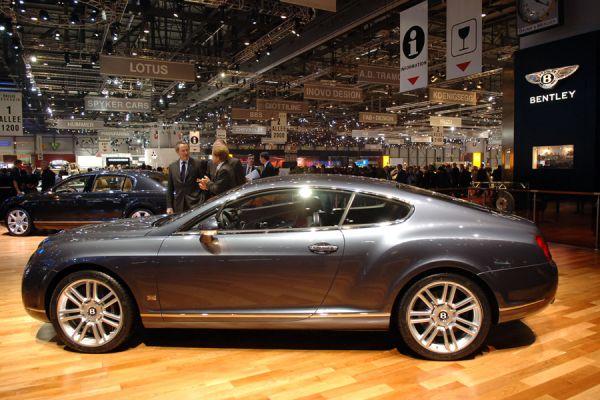 Bentley en el Salón de Ginebra de 2006