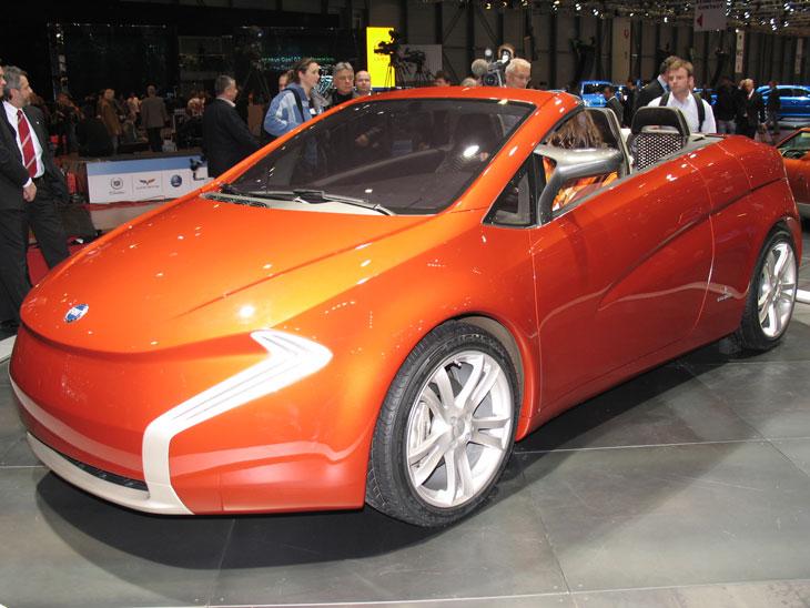 Bertone: concepts para Fiat, Opel y Mitsubishi