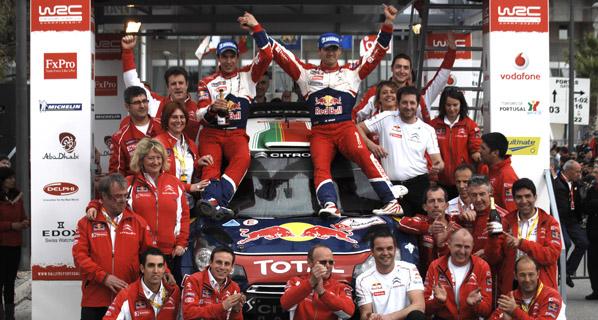 WRC: Ogier se impone en Portugal